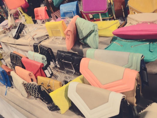 Sherbet-Colored BAGS