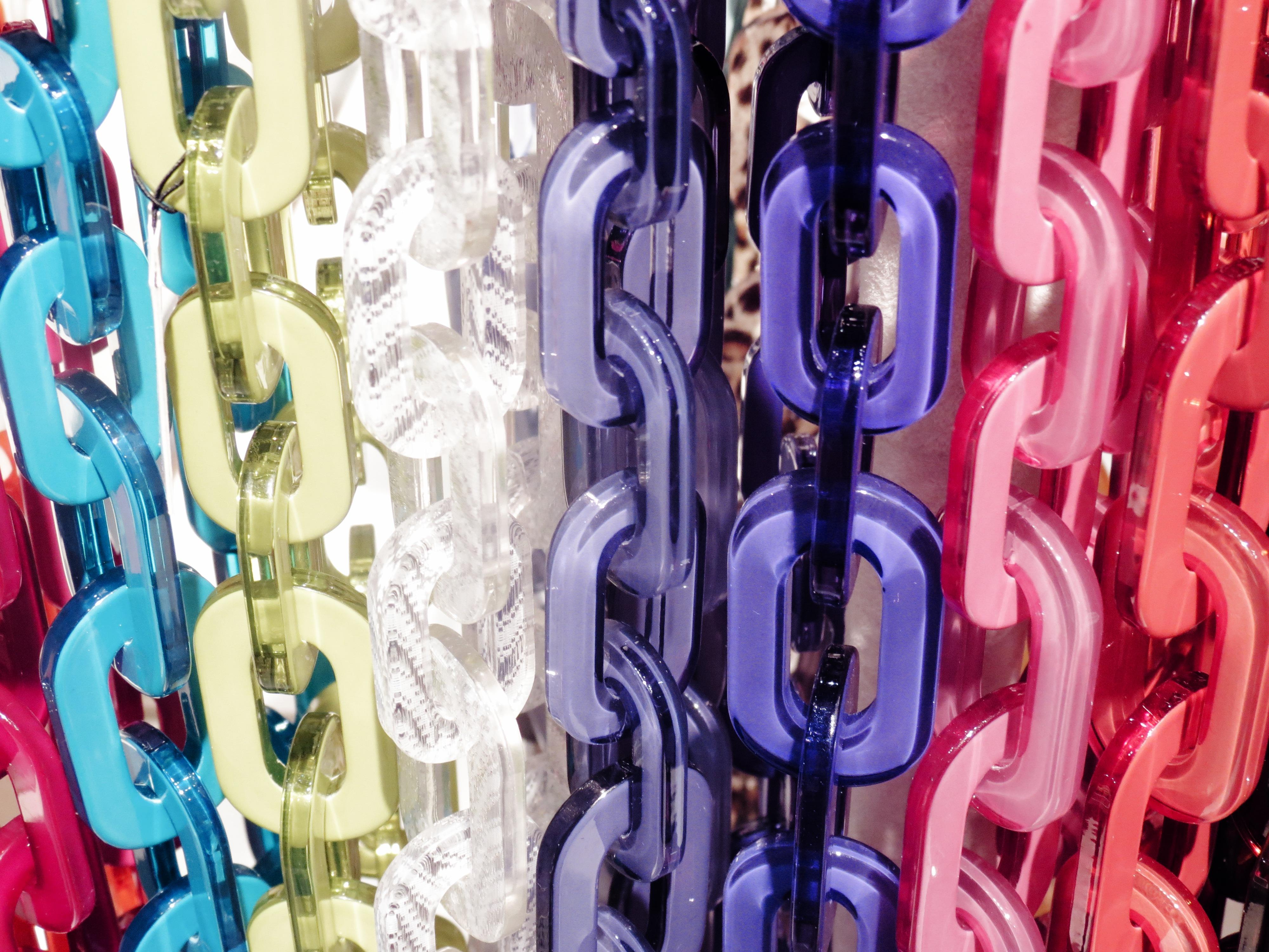 Plastic Necklaces