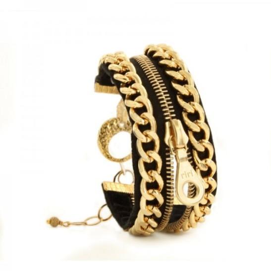 Single Zip Bracelet