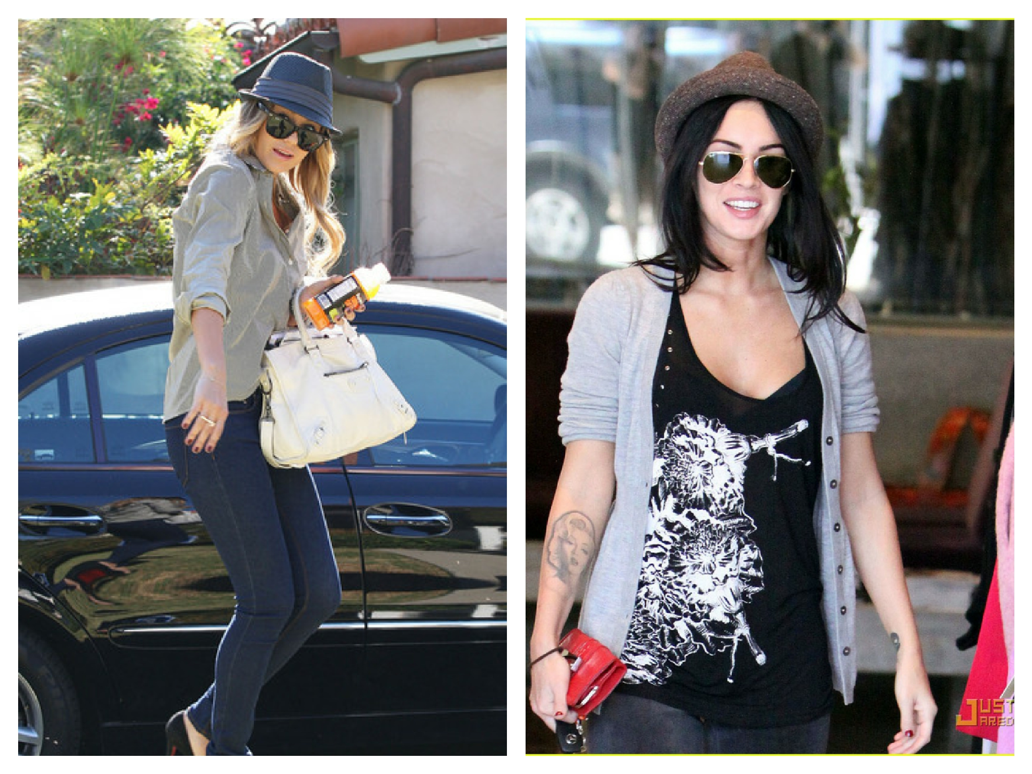 Celebs in Fedoras